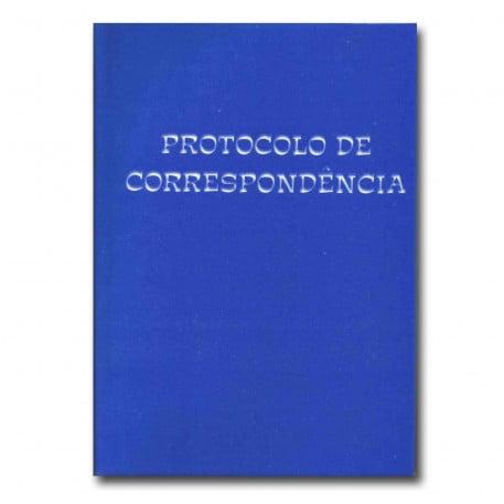 Livro de Registro Protocolo de Correspondência Tamoio Ref. 2025 - 100 Folhas