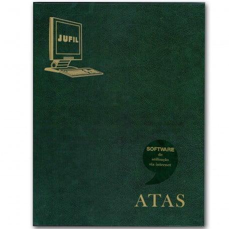 Livro de Registro de Atas 100 folhas - Eletrônico