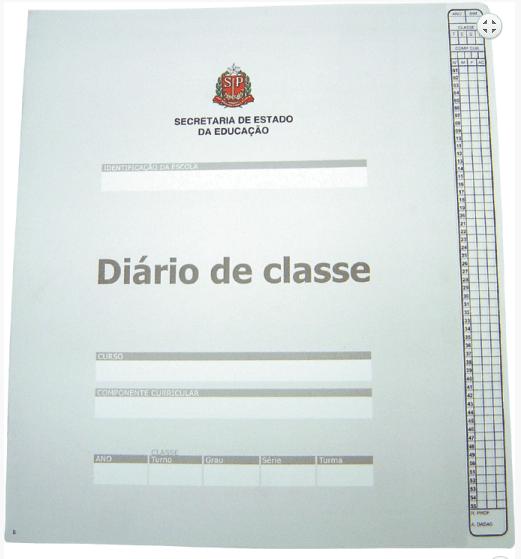 Diário de Classe Bimestral Tamoio Ref. 1732 - 08 folhas Cinza c/ 50 unid