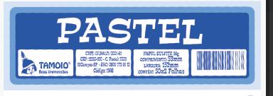 Ficha de Festa Pastel Tamoio Ref. 1971 - 50X2 C/ 10 Blocos
