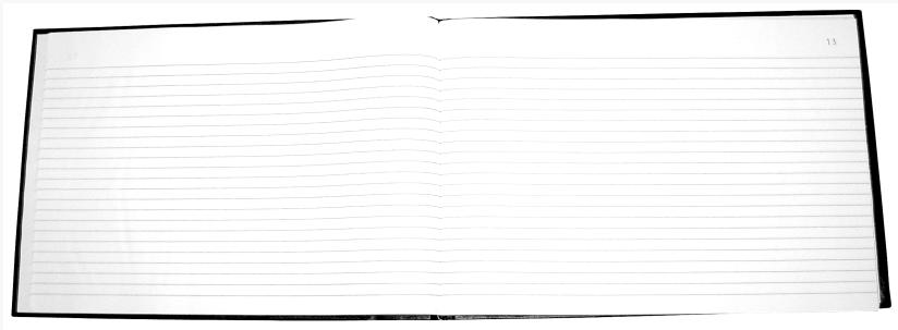 Livro Ata S/ Margem Horizontal Capa Dura Tamoio 22 X 32 Cm - 100 folhas Pct. C/ 3 unid