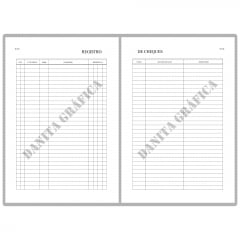 Livro de Registro de Cheques V9