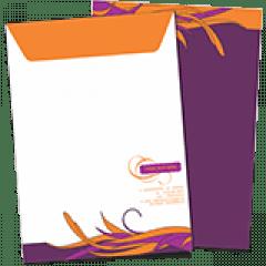 Envelope Meio-Saco | Formato: 18x25 cm | Papel Offset 90g/m²
