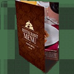 Folder 1 Dobra | 4x4 cores | Formato: 10x14 cm | Papel Couché Brilho 90g/m²