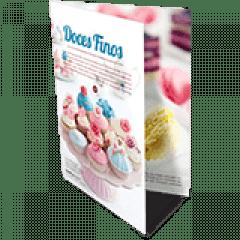 Folder 1 Dobra | Formato: 15x20 cm | Papel Offset 90g/m² | 4x4 cores | 250 unidades