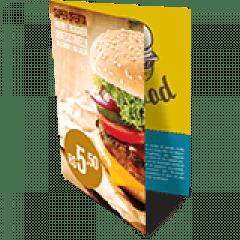 Folder 1 Dobra | Formato: 20x30 cm | Papel Offset 90g/m² | 4x4 cores | 250 unidades