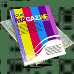 Revista 20 Páginas | Formato: 15x20 cm | Papel Couché 90g/m² | 4x4 cores