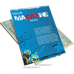 Revista 8 Páginas | Formato: 15x20 cm | Papel Couché 90g/m² | 4x4 cores