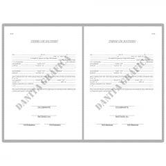 Livro de Registro de Batismo V9