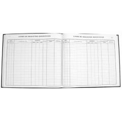 Livro de Registro Específico Farmácia Medicamentos Controlados - Portaria 344/98 Tamoio Ref. 2038 - 100 folhas c/ 2 unid.