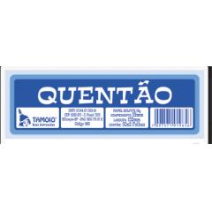 Ficha de Festa Quentão Tamoio Ref. 1965 - 50X2 C/ 10 Blocos