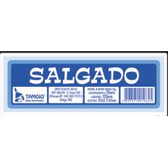 Ficha de Festa Salgado Tamoio Ref. 1962 - 50X2 C/ 10 Blocos