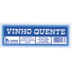 Ficha de Festa Vinho Quente Tamoio Ref. 1960 - 50X2 C/ 10 Blocos