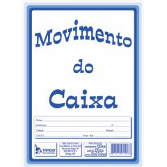 Livro de Registro de Movimento do Caixa Tamoio Ref. 1101 50 X 2 Vias C/ 05 Blocos