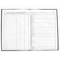 Livro Modelo Lalur - Registro de Apuração Do Lucro Real Tamoio Ref. 2035 - 50 folhas C/ 5 unid